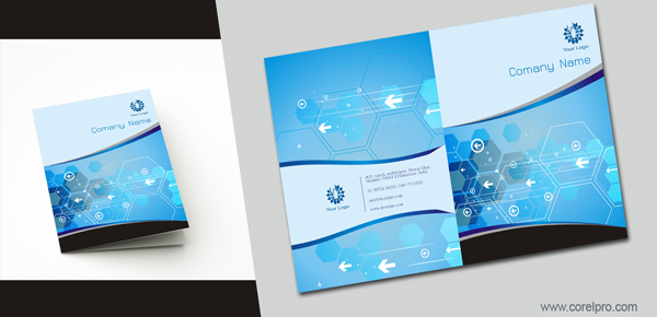 Brochure Cover Design Template - Brochures design templates