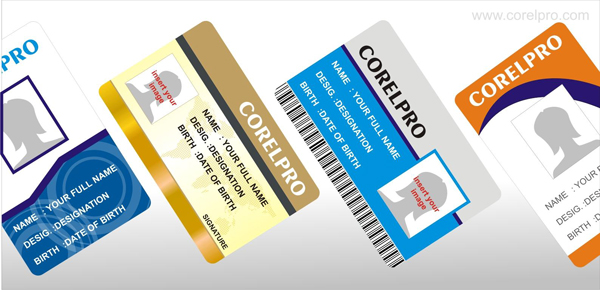 Id card templates id card templates designs in cdr format for free download reheart Images