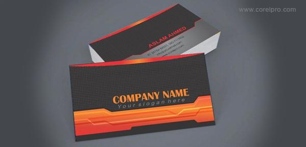 Tech business card templates corporate business cards fbccfo Choice Image